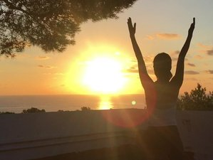 5 Day Blue Sky Private Yoga Bed and Breakfast with Sea View in Ibiza