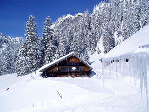 2 Tage Yoga Urlaub und Schneeschuhwandern in Traumhafter Winterbergwelt am Spitzingsee