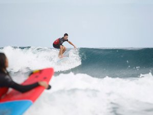 8 Days Basic Improver Surf Camp in Canary Islands, Spain