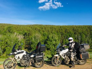 26 Day Trans-Siberian Marathon Guided Motorcycle Tour from Vladivostok to Moscow, Russia