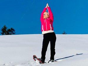 4 Tage Faszienyoga, Meditation und Schneeschuhwandern in einem Berghaus am Spitzingsee