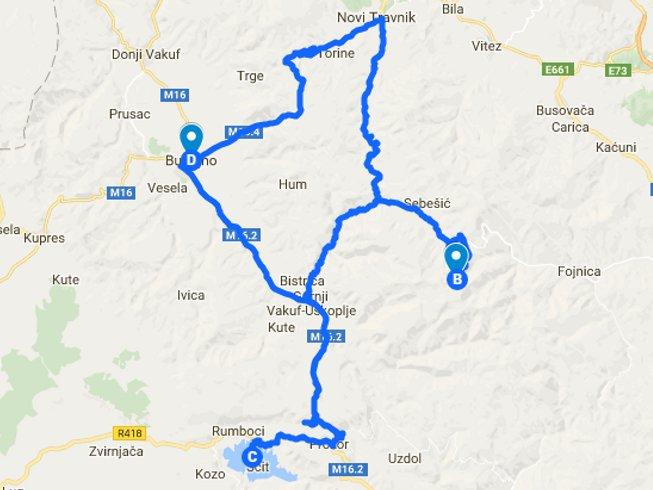 6 Days Motorcycle Tour in Bugojno, Bosnia and Herzegovina
