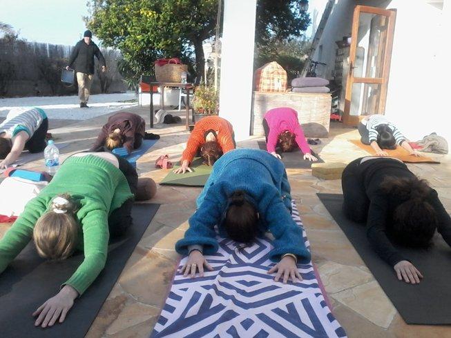 6 Days Christmas Presence Yoga Retreat in Ibiza