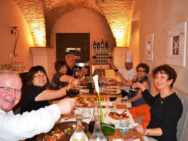 7 Days Wine Tasting, Salami Making, and Cooking Holiday in Vasto, Italy