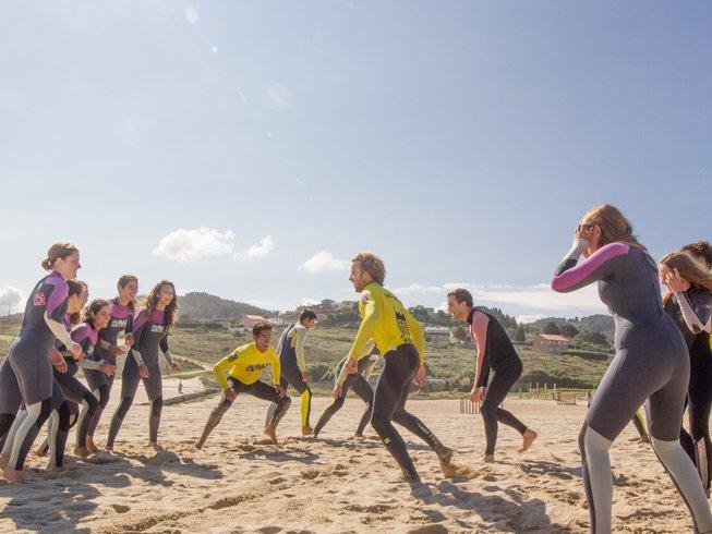 7 Days Group Surf Camp Galicia, Spain
