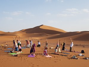 8 Days Culture Tour and Desert Yoga Holiday in Morocco
