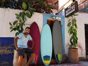 5 days Sunset Surf Camp, with traditional cuisine and authentic accommodation, Tamraght, Taghazout.