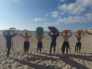 5 Days Safe Surf Guiding in Lisbon Area, Portugal