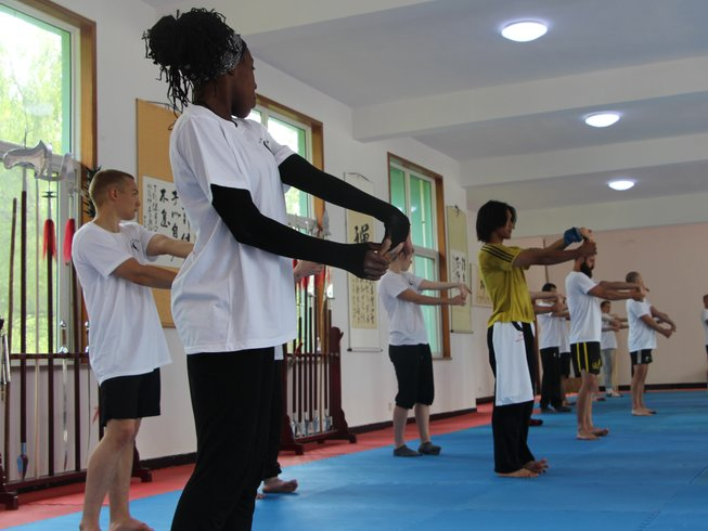 4 Months Shaolin Kung Fu Training in China