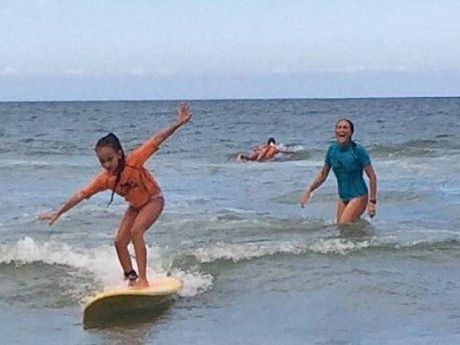 4 Days Weekend Surf Camp Brazil