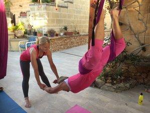 6 jours en stage de yoga aérien et detox régénérante à Xaghra, Gozo