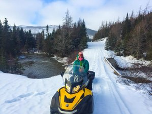 3 Day Escape and Explore Guided Snowmobile Tour in Newfoundland, Canada