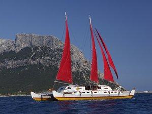 8 Tage Yoga, Freitauchen und Segeln Retreat bei Sardinien und Korsika