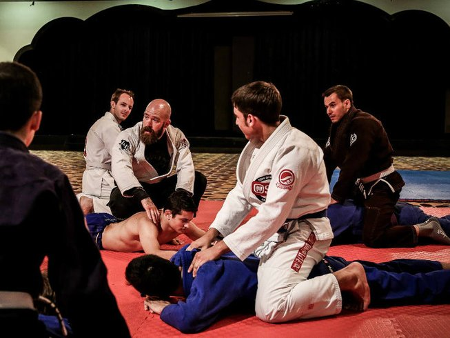7 Days Brazilian Jiu Jitsu Training in Turkey