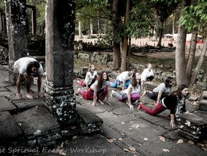 8 Day Spiritual Energy Wellness, Yogi Philosophy, Karman Yoga and Meditation in Siem Reap