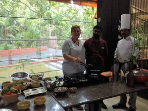 14 Day Professional Chef-guided Culinary Tour with Ayurveda in God's Own Country, Kerala