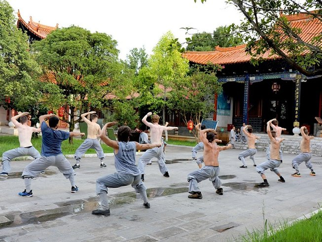 2 Months Songshan Kung Fu School Training in Mile, China