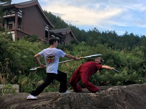 6 Months Shaolin Kungfu Training and Buddhism Cultivation with Monks in Sikong Mountain, China
