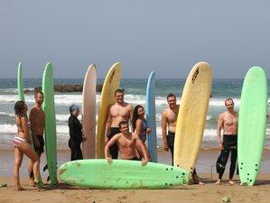 8 Day Guided Surf Camp Tamraght, Souss-Massa