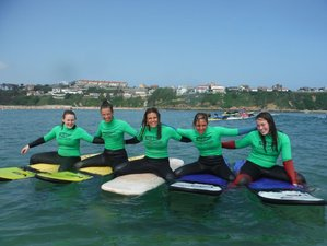 4 Days Adult Surf Camp in Cantabria, Spain