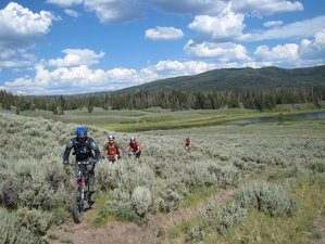 5 Days Grand Teton Mountain Bike Tour in Wyoming, USA