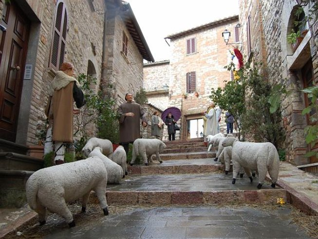 5 Days New Year's Eve & Culinary Holidays in Umbria