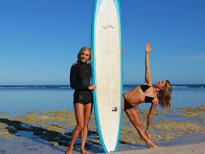 4-Daagse Surf en Yoga Retraite in Bali