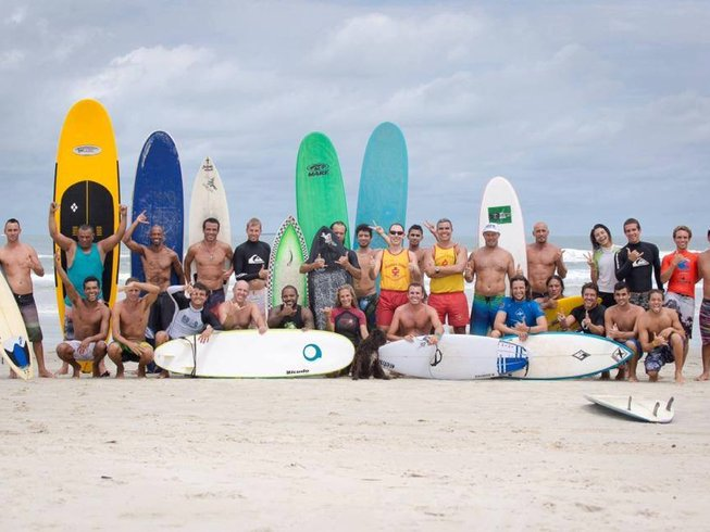 7 Days Guarujá Yoga Retreat and Surfing in Brazil