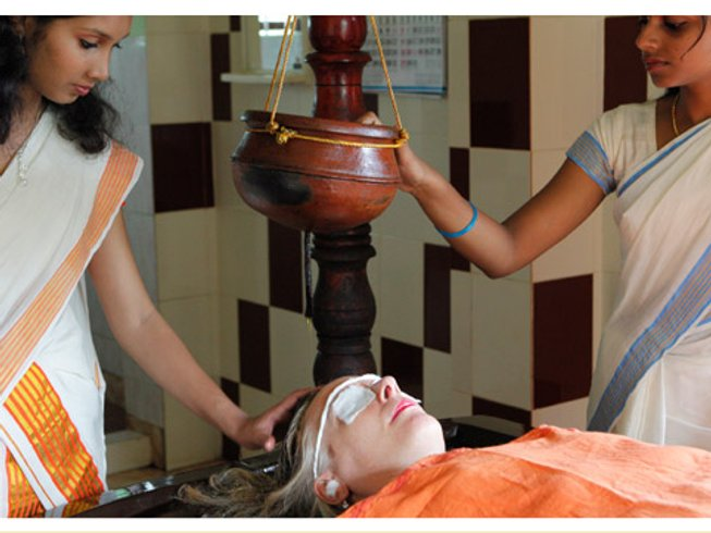 24 Days YTT and Ayurveda Therapy in Kerala, India