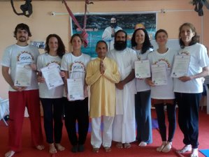26 Days 200-Hour Multi-Style Yoga Teacher Training in Hampi, India