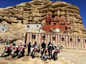 15 Day Guided Upper Mustang Motorcycle Tour in Nepal
