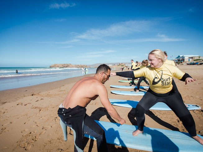 7-Daagse Surf en Yoga Retreat in Agadir, Marokko