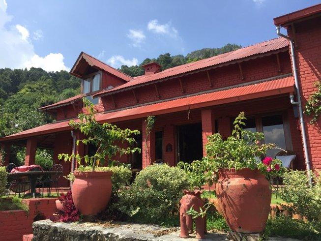 5 jours en retraite de yoga spirituelle, méditation et tourisme dans la vallée de Katmandou, Népal