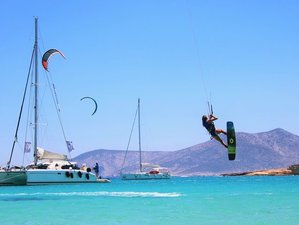 10 Days Kitesurfing and Sailing Experience in The Magic Land of Meltemi, Greece