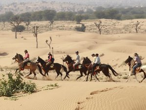 3 Day Unforgettable Vivaana Culture Hotel Horse Riding Holiday in Rajasthan