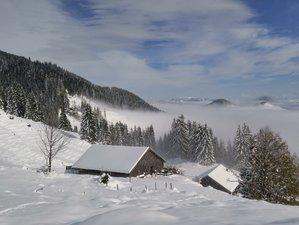 4 Tage Schneeschuhwandern und Yoga Retreat im Allgäu, Deutschland