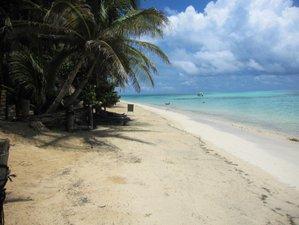 Strand Bungalow Unterkunft auf Little Corn Island, Nicaragua