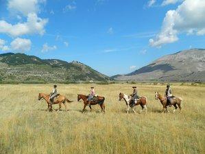 8 Days Parco Nazionale della Majella Horse Riding in Molise, Italy