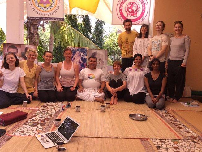 28 días profesorado de meditación de 500 horas en India