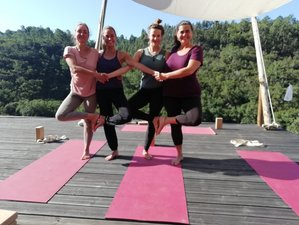 5 Days Yoga Retreat in Nature with Yoga, Meditation, and Healthy Nutrition in Odeceixe, Portugal
