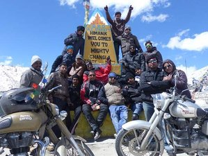 6 Day Guided Leh Ladakh Motorbike Tour in India