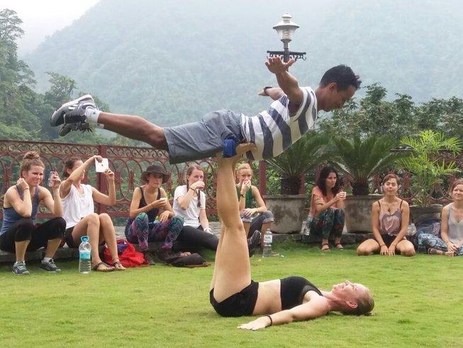 7 Tage Fortgeschrittenen Yoga Retreat Rishikesh, Indien
