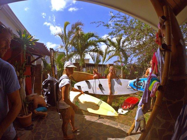 7 días retiro de yoga y surf en Nicaragua