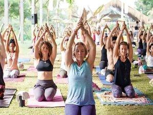 8-Daags Overvloedig Yoga, Meditatie en Dansfestival in Ubud, Bali, Indonesië