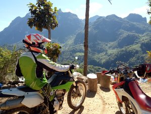 10 Days New Year's Giant Loop Guided Dirt Bike Tour in Thailand for Advanced Riders