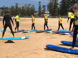 4 Day Surfer Yoga Class and Surf Camp for All Levels in Manly Beach, New South Wales