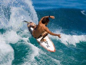 7 Days Solo Surf Trip in North Male Atoll, Maldives