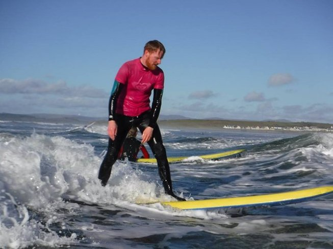 8 Days Surfing Camp in Bundoran, Ireland