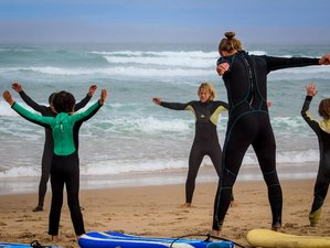 7 Days Yoga and Surf Camp in Cascais, Portugal
