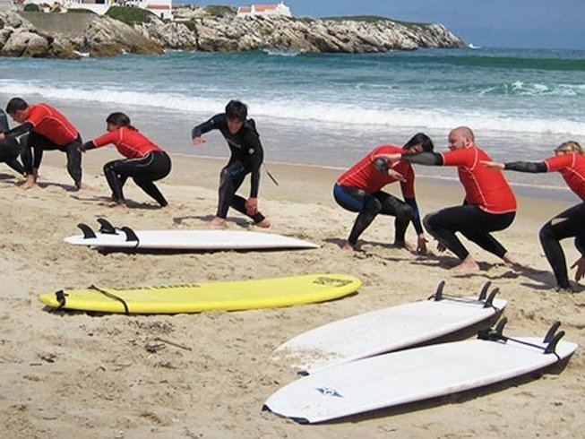 8 Days Bodyboard and Surf Camp Portugal